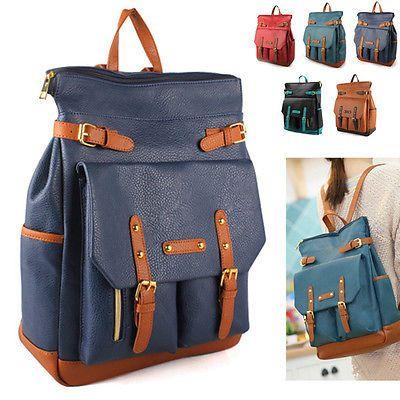 Style2030 New Uni Backpacks Satchel Book Bags Casual School Bag