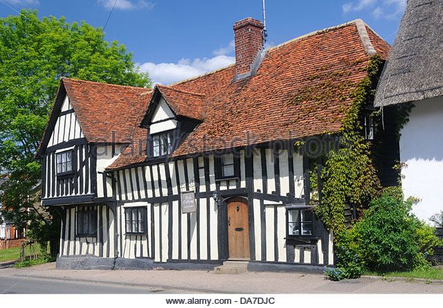 Spring June Britain Uk Stock Photos Spring June Britain Uk Stock Images Medieval Houses Timber Frame Building Tudor House