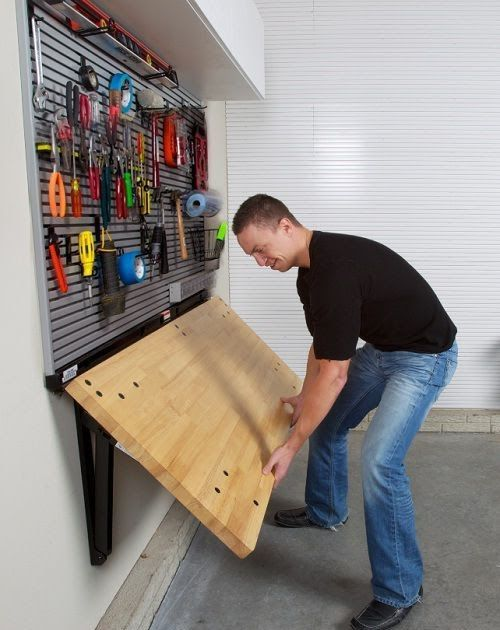 23 clever ways to declutter your garage Photo: newlywoodwards That will work for smaller storage solutions too. Photos: familyhandym... #declutter