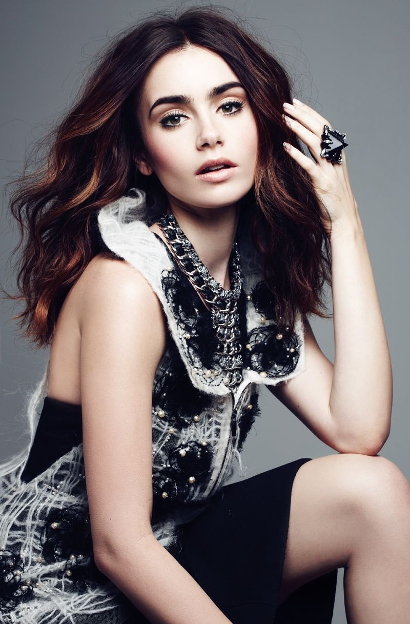 Lily collins megan pinterest lily collins september and hair