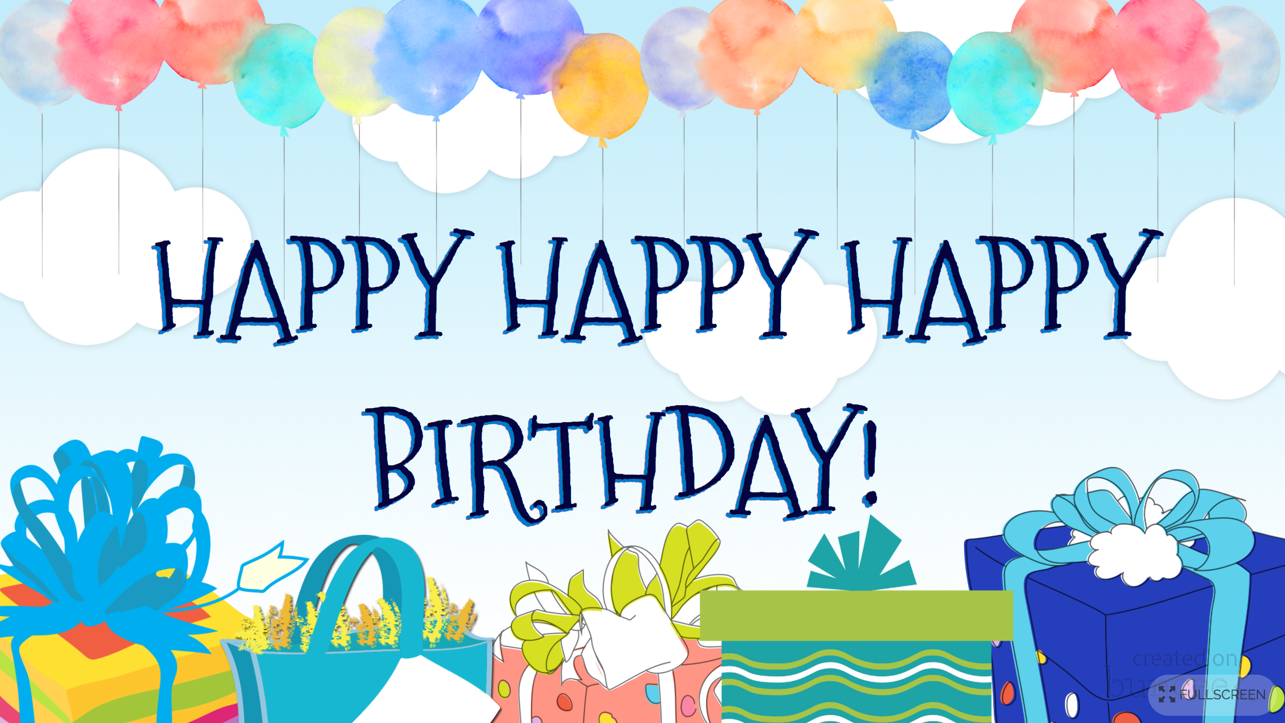Incredible Buncee Happybirthday Birthday Cake Ts Presents Balloons Funny Birthday Cards Online Sheoxdamsfinfo