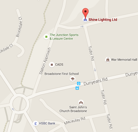 Find Our Showroom In Broadstone, Poole, Dorset.