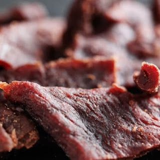 Beef Jerky With Worcestershire Sauce Soy Sauce Smoked Paprika Honey Freshly Ground Black Pepper Red Pepper Flakes O Beef Jerky Recipes Jerky Recipes Food