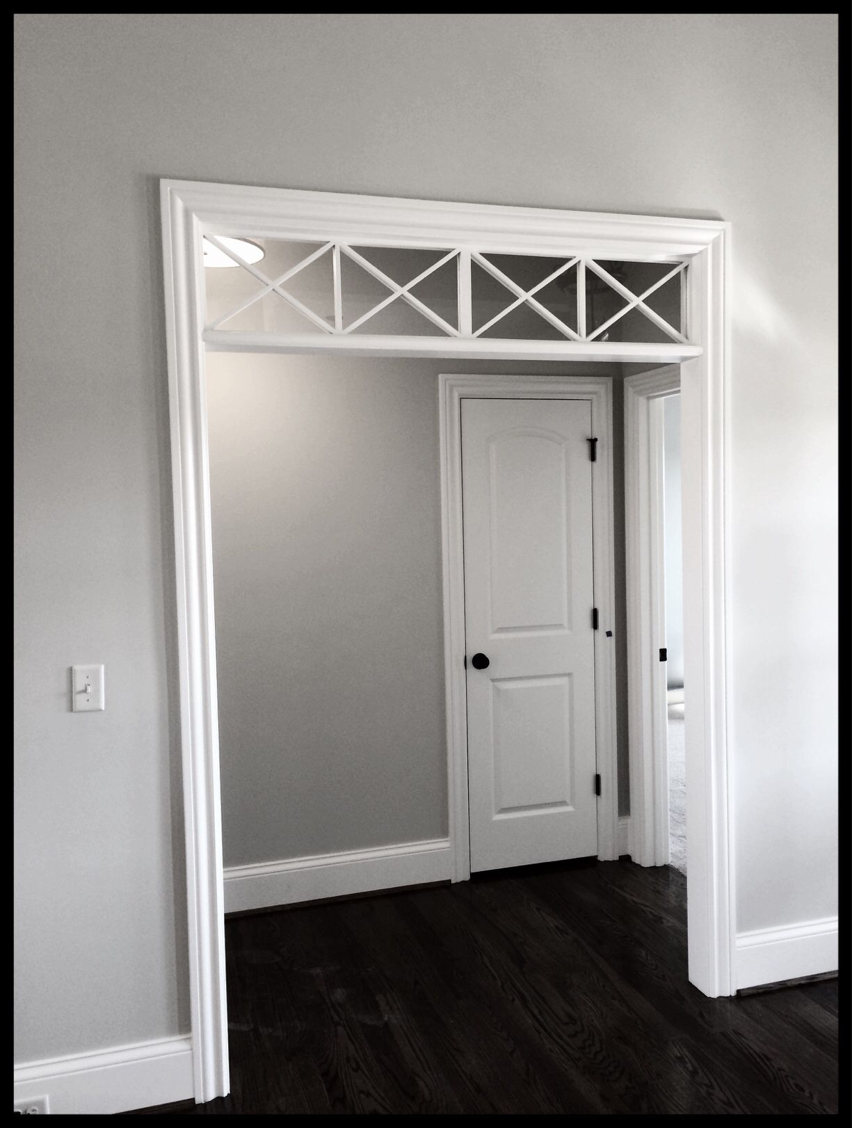 Timeless Interior transom window by Meridian Construction and David Weis. #LouisvilleHomeBuilder #HomeBuildersLouisville #LouisvilleNewHomes #LouisvilleBuilders #Custom #HomeBuilderLouisville #LouisvilleCustomHomeBuilder #CustomHomeBuilder #CustomBuiltHomesLouisville #MeridianConstruction #NortonCommons #Homearama