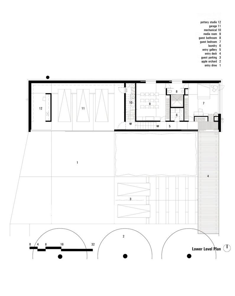 Stupendous Gallery Of Field House Wendell Burnette Architects 3 Download Free Architecture Designs Embacsunscenecom