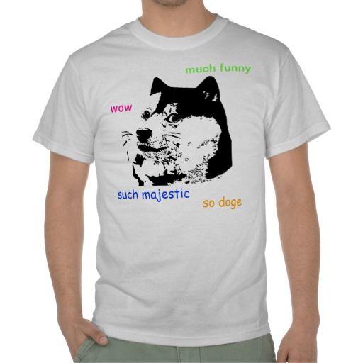wow such t-shirt