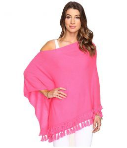 Lilly Pulitzer Limonada Cashmere Wrap (Dragonfruit) Women's Sweater