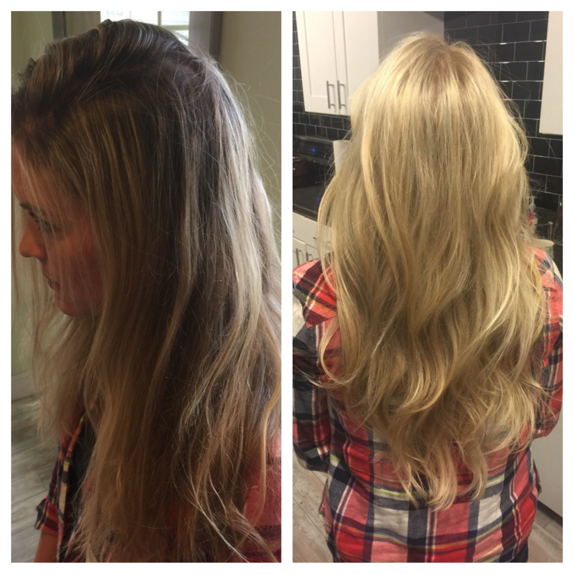 Long blonde hair #treosalon #danascarff #blondehair #longhair Follow me on IG stylist.dscarff