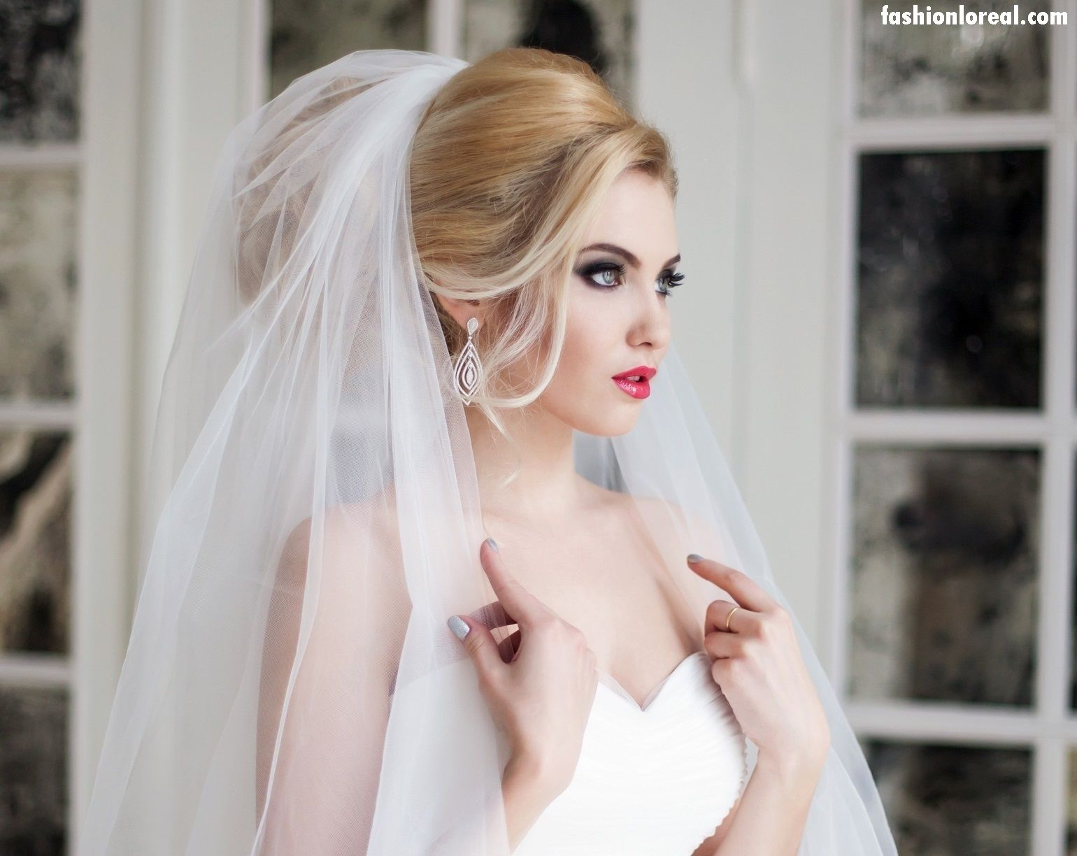 Wedding Hairstyle For Bridal of America, Germany, And UK, wedding ...