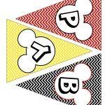 BIG Mickey Mouse Party Printable Kit   Homeketeers