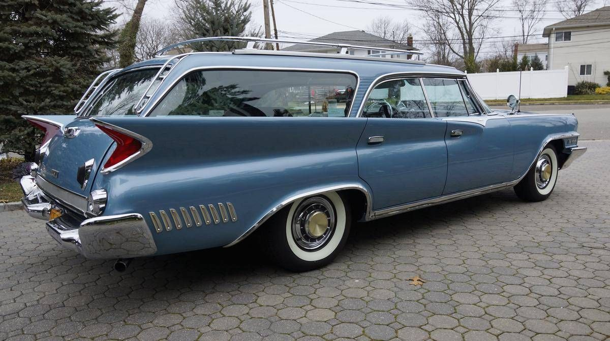 Hemmings Find Of The Day 1961 Chrysler New Yorker Wheels Wings Windows Wiring Diagram 1959 60 Ford And Edsel Hardtop Station Wagon