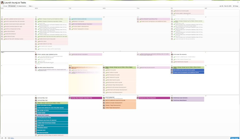 Why I Use Asana to Keep Me Organized Laura james, Asana and Management - kanban spreadsheet template