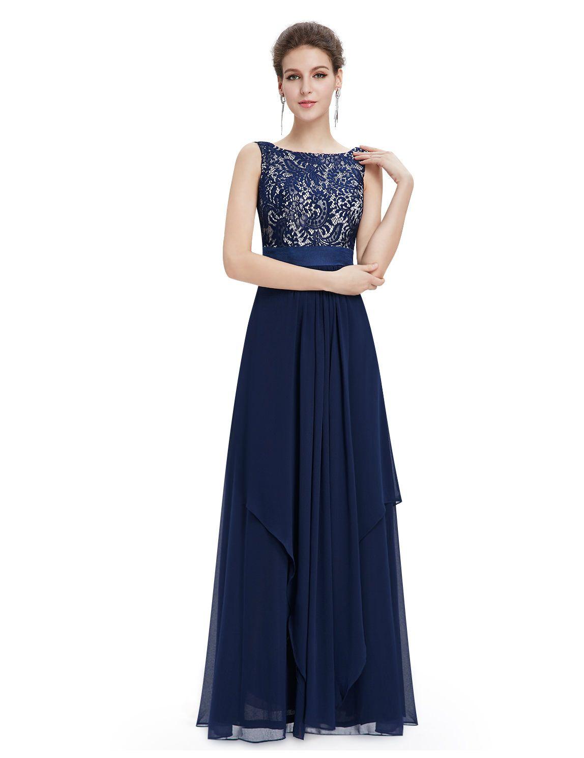 Blaues spitzen Abendkleid | kleid | Pinterest | blaue Spitzen ...