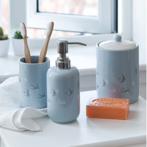 Borgholm 3 Piece Bathroom Accessory Set Fjorde Co Bathroom Sets Bathroom Accessories