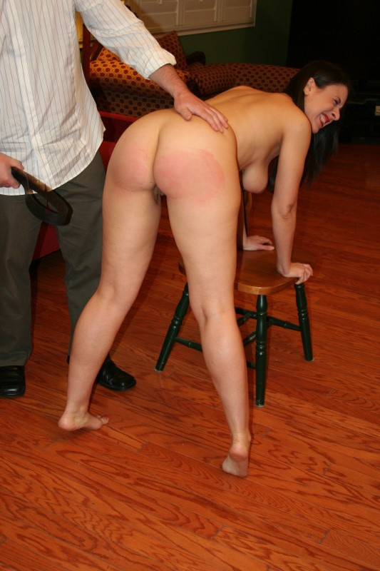 Female spanking hardcore