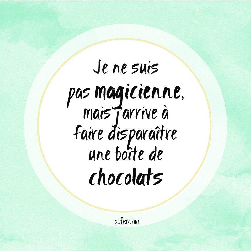 Abracadabra Phrase Drole Sur Le Chocolat Et Ma Propension A Faire De La Magie Phrase Drole Texto Droles Citation Noel