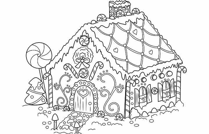 Top 25 Free Printable Christmas Coloring Pages Online Free Christmas Coloring Pages Printable Christmas Coloring Pages House Colouring Pages