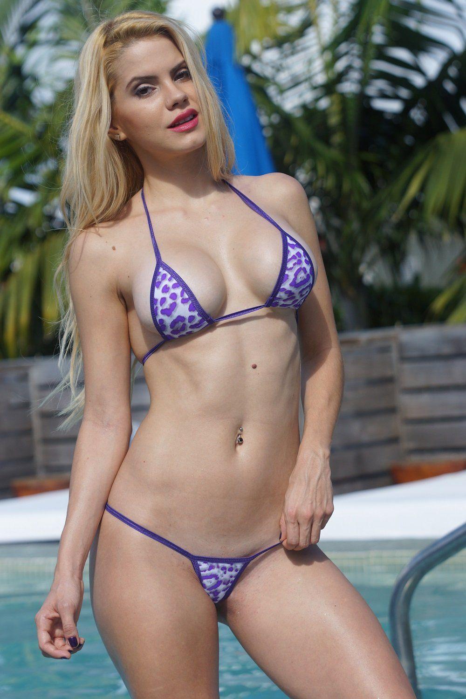 Bikini butt micro mini