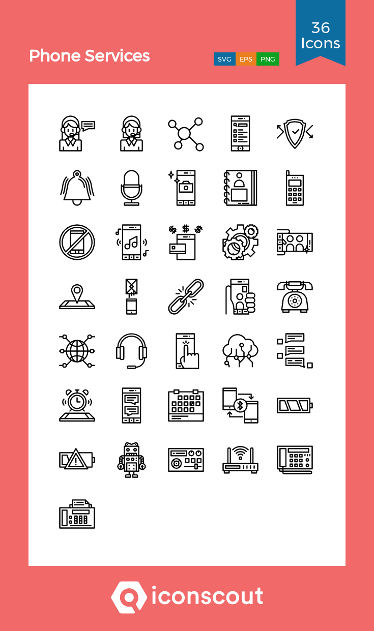 Download Phone Services Icon Pack Available In Svg Png Eps Ai Icon Fonts Icon Pack Phone Service Icon