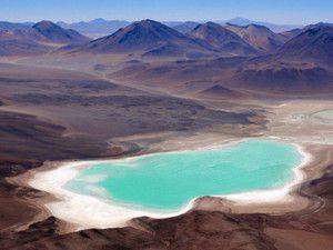 Dans la partie bolivienne de l'Altiplano, en Amérique du Sud.