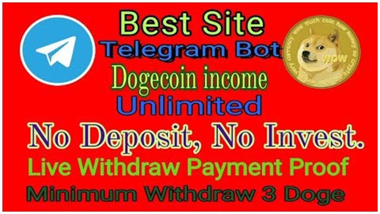 Telegram DogeCoin Bot 100% Legit with Payment Proof of w…   Telegram