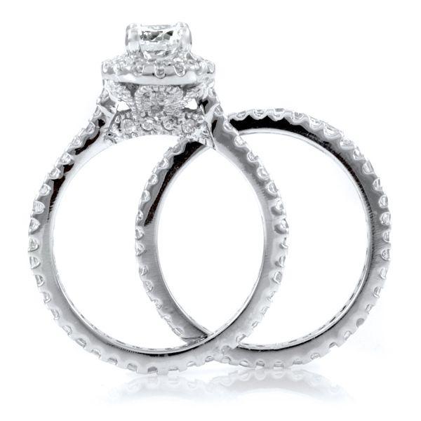 Kats Pave CZ Wedding Ring Set