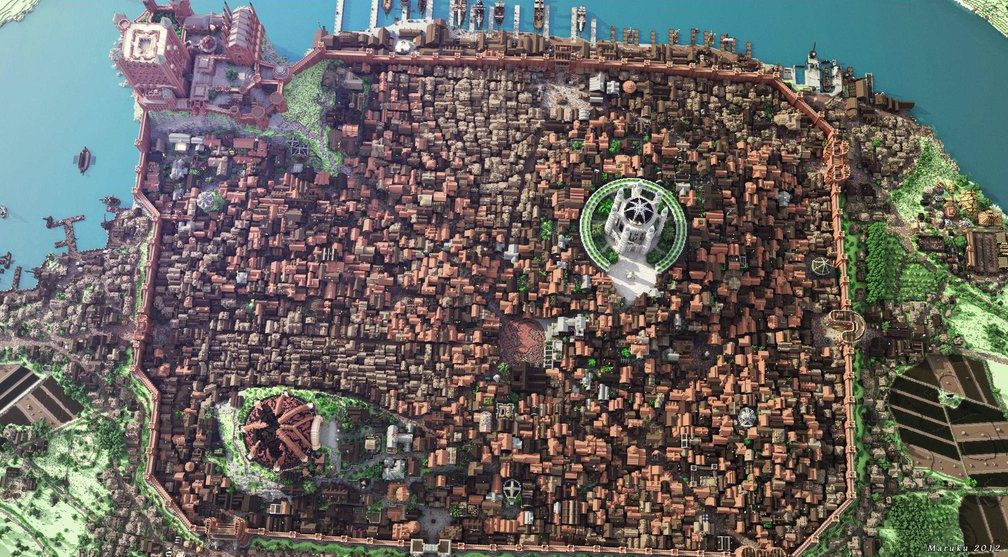 Kings Landing in Minecraft 3/3