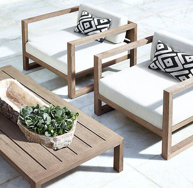 Aegean Teak Luxe Lounge Chair Idees De Meubles Meuble Terrasse