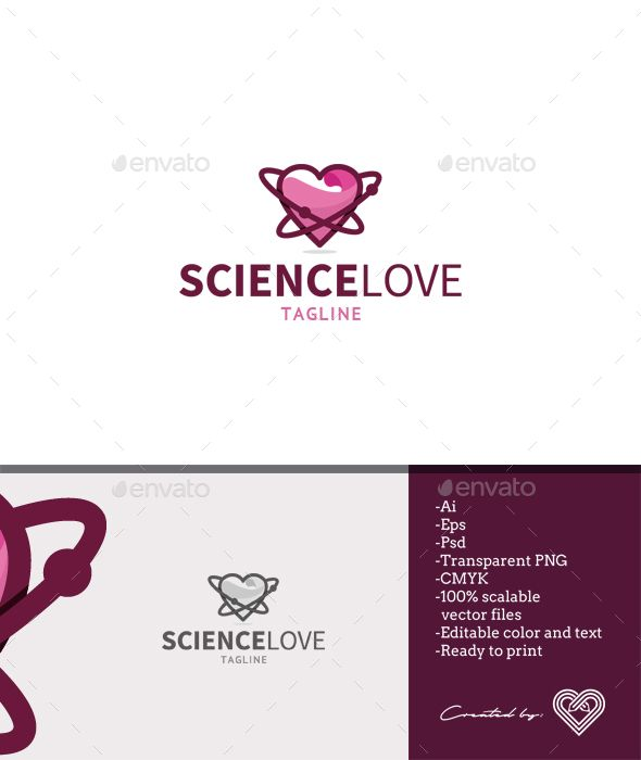 Science Love Logo Templates Symbol Logo And Logos