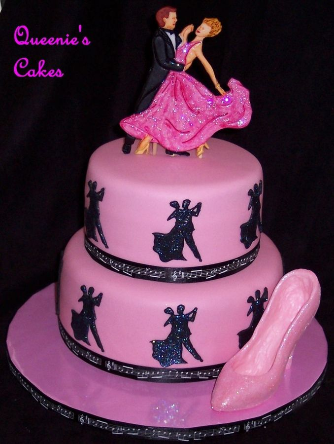 Remarkable Ballroom Dancing Birthday Cake Cakepins Com Dance Cakes Dancer Personalised Birthday Cards Cominlily Jamesorg