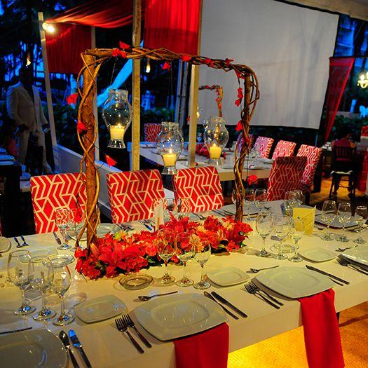 Decoración de Banquetes en bodas y evento en Acapulco