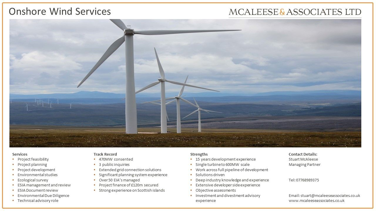 Homepage Onshore Wind Energy Services Ecology