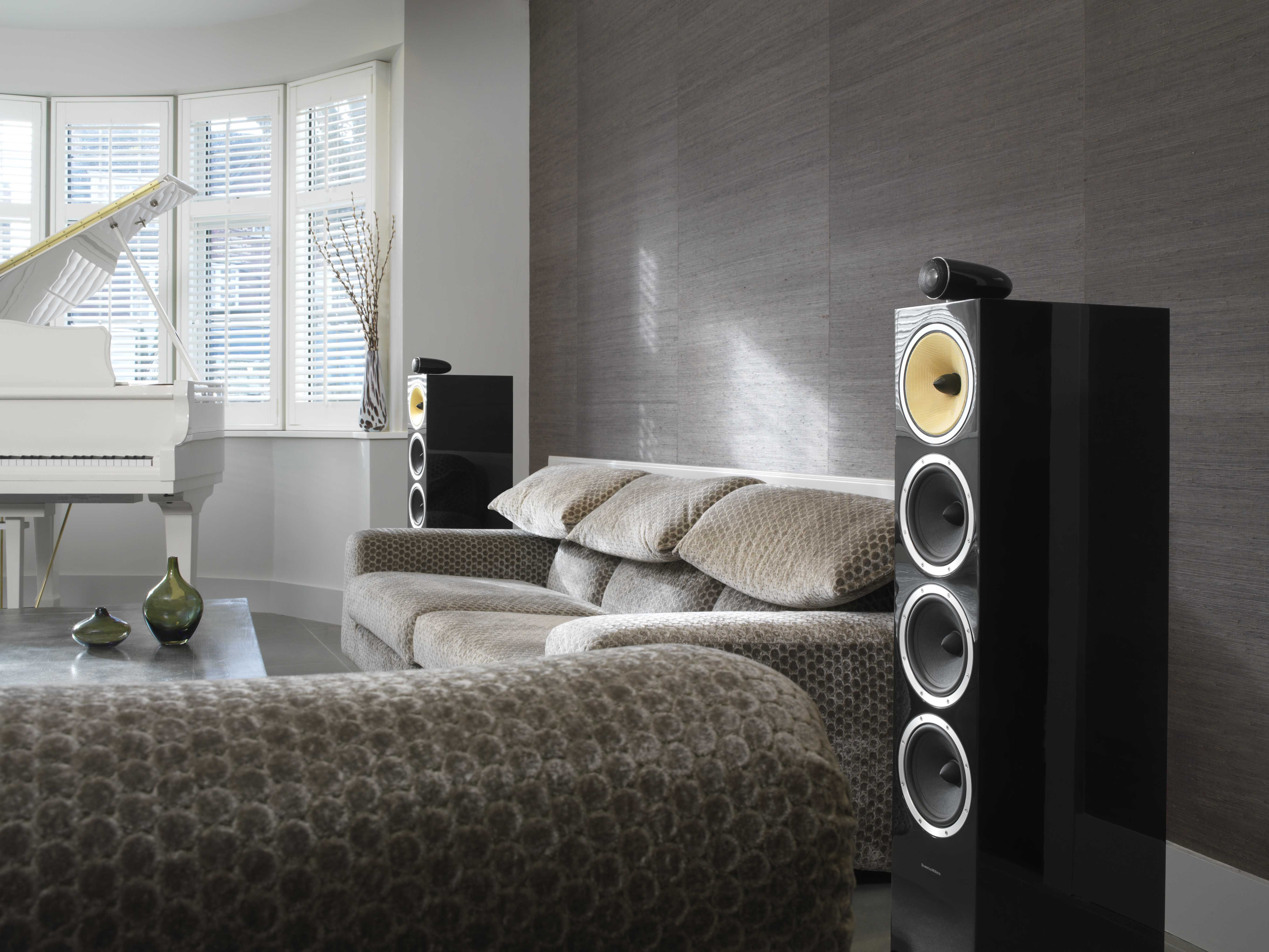 Stylish Speakers Used In Interior Design