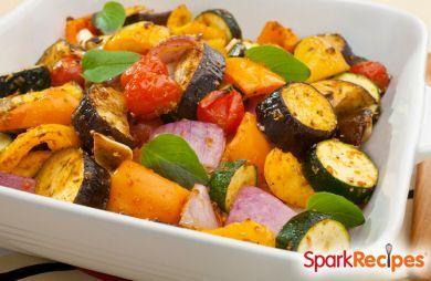 Italian Vegetable Bake Recipe via @SparkPeople