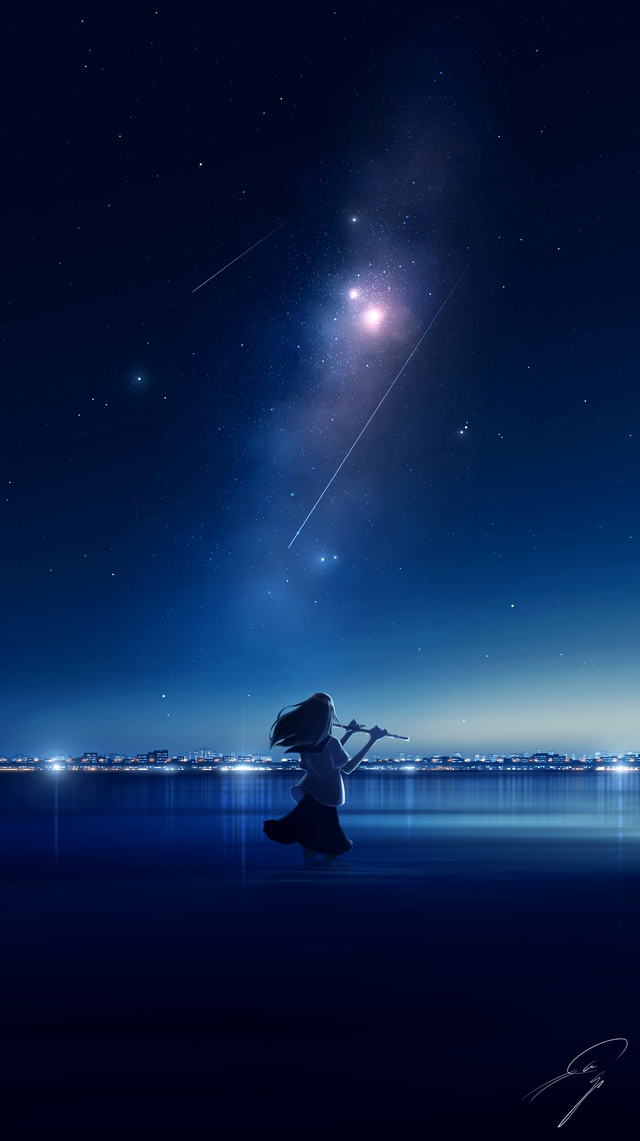 Night Sky [Original] (1380x2460)