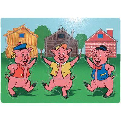 R sultat de recherche d 39 images pour 3 petits cochons - Coloriage les trois petit cochons ...