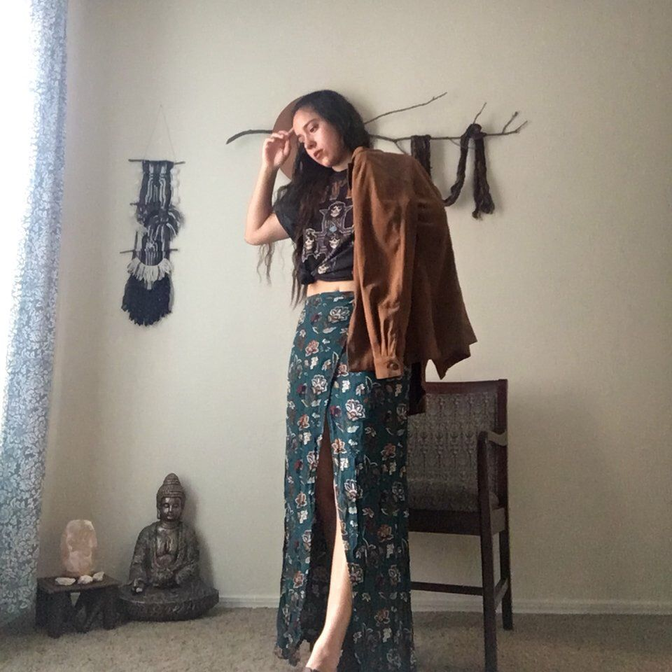 0da50e3a95 Listed on Depop by candaleria | That Bohemian Girl | Depop, Floral ...