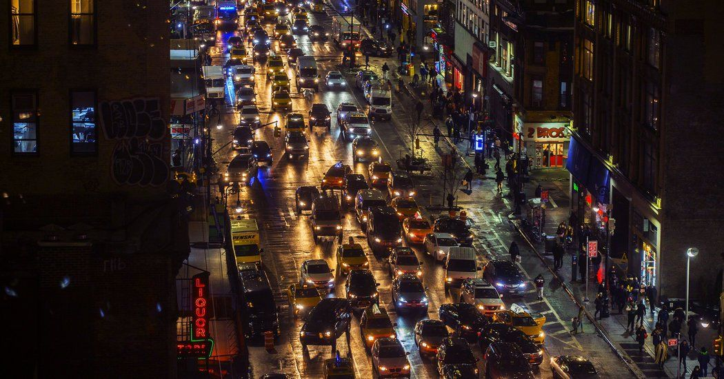 Your Uber Car Creates Congestion. Should You Pay a Fee to