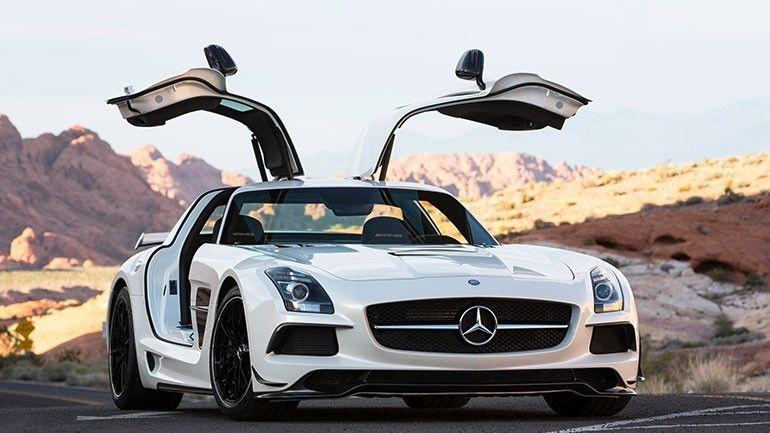 2014 Mercedes Benz Amg Sls Black Series Mercedes Benz Sls