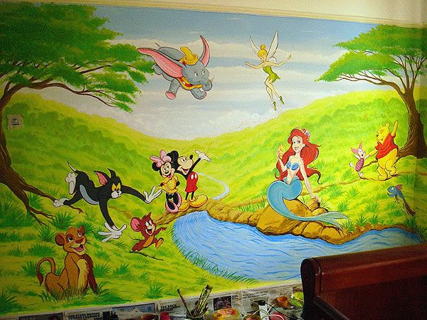 Wonderful Disney Mural (600×450) Part 5