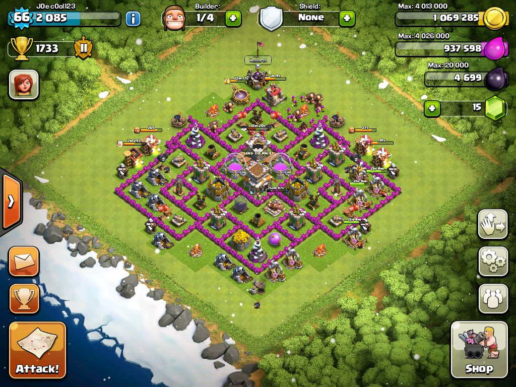 Clash Of Clans Quit Base