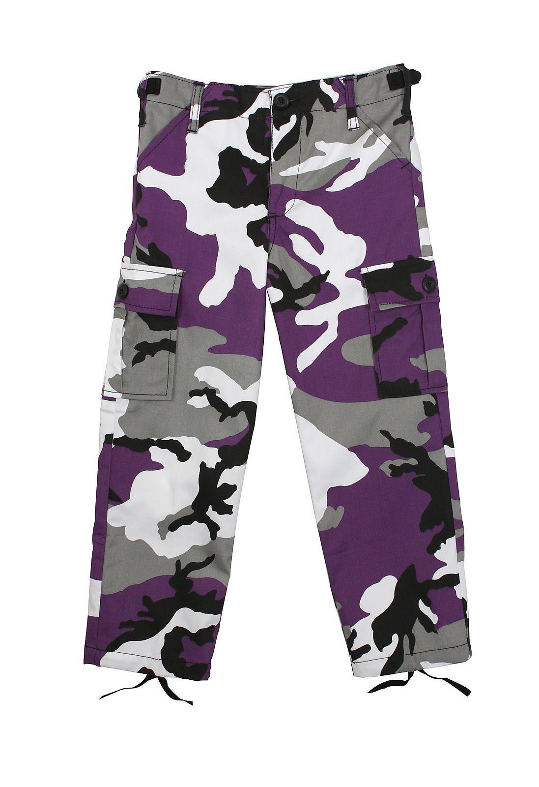 246efefb3b5 Kids Ultra Violet Military BDU Pants - Childs Purple Camo Pants ...