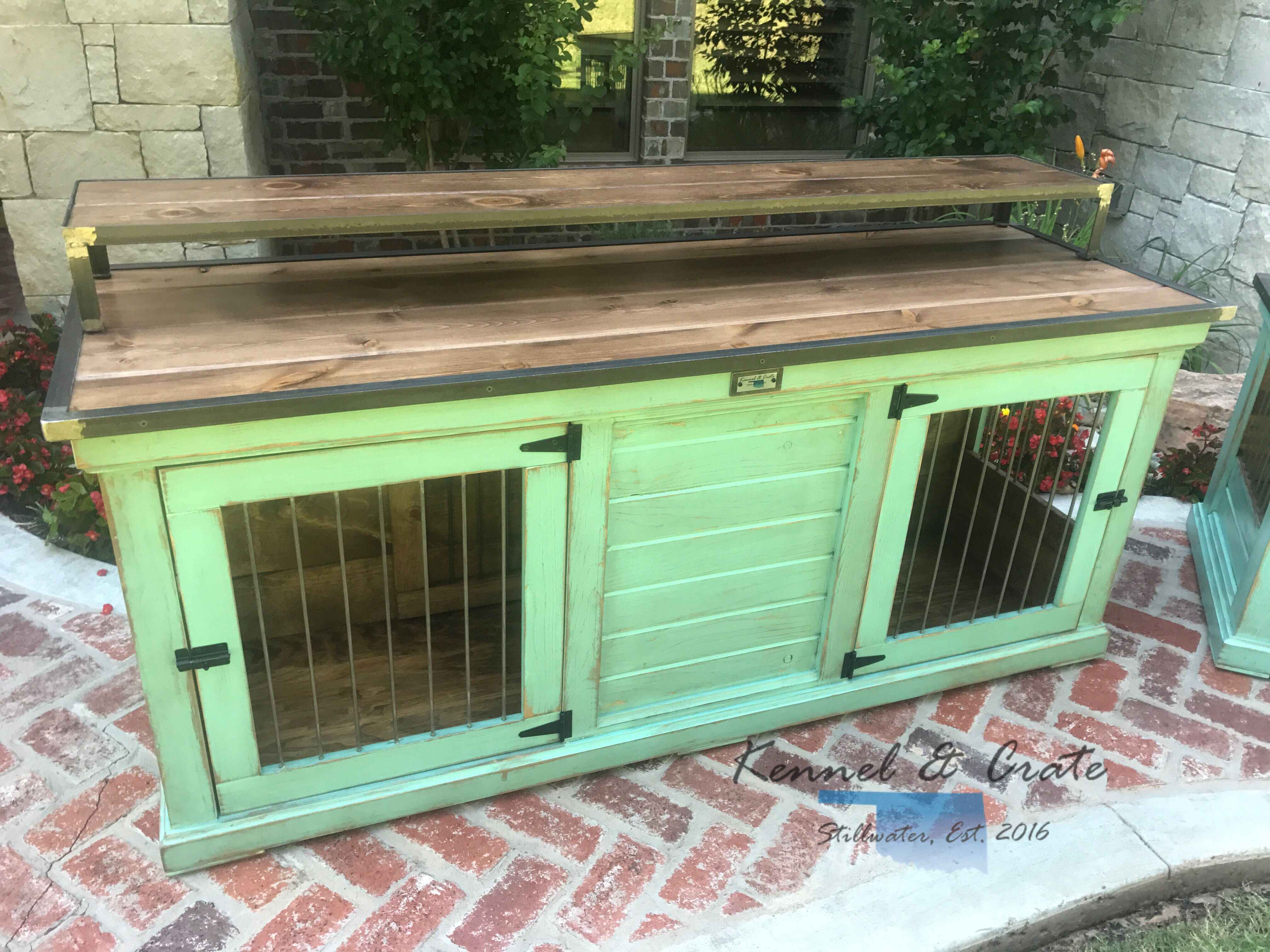Designer Indoor Dog Kennels Replace Your Wire Dog Crate With A Beautiful Piece Of Functional Furniture Luxury Dog Kennels Indoor Dog Kennel Wire Dog Crates