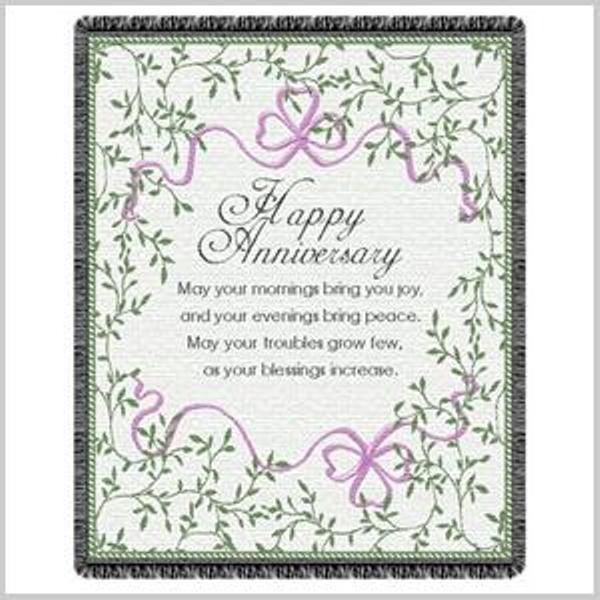 Irish Anniversary Blessing Throw Irish Anniversary Wedding Anniversary Quotes Happy Anniversary