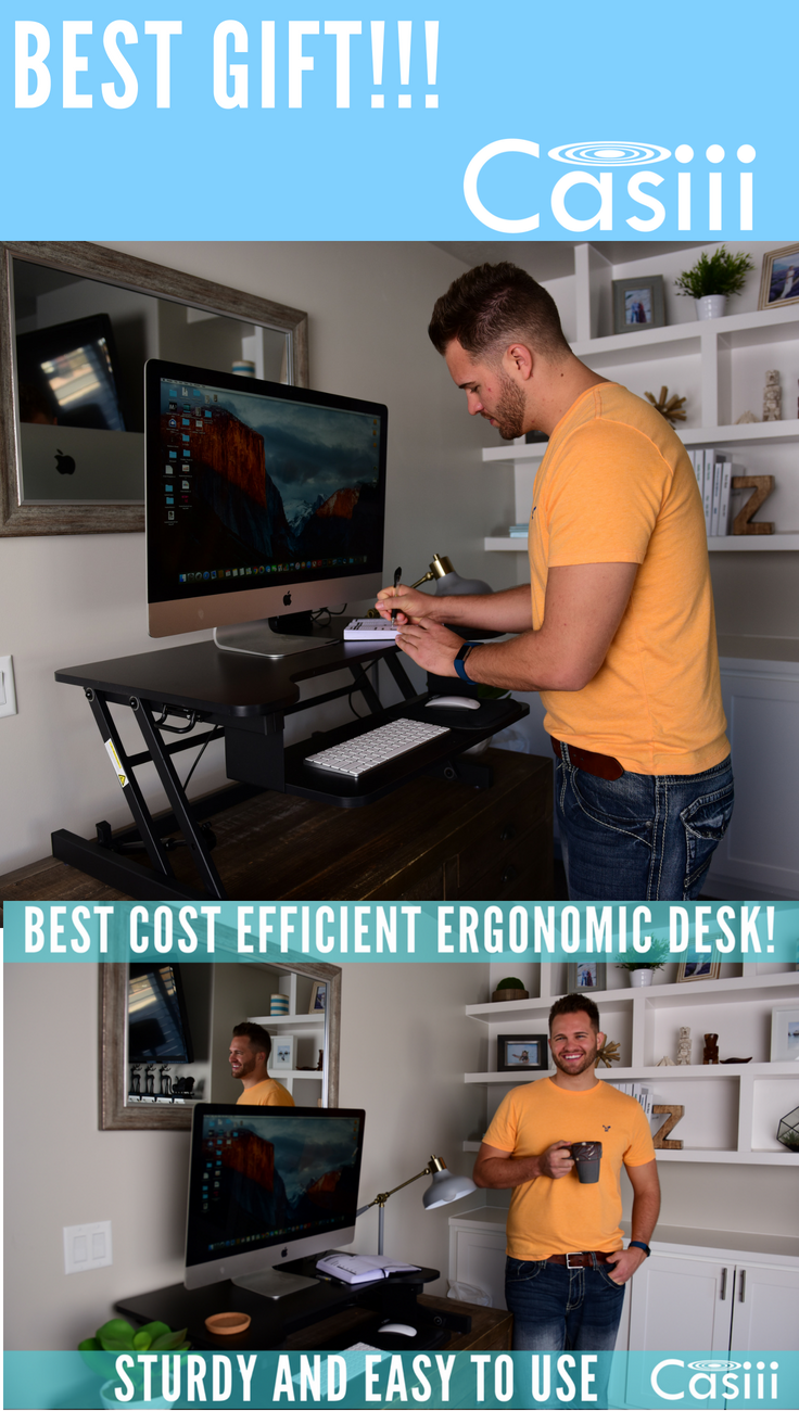 Best Gift Ever Standing Desk To Lower Back Pain And Increase