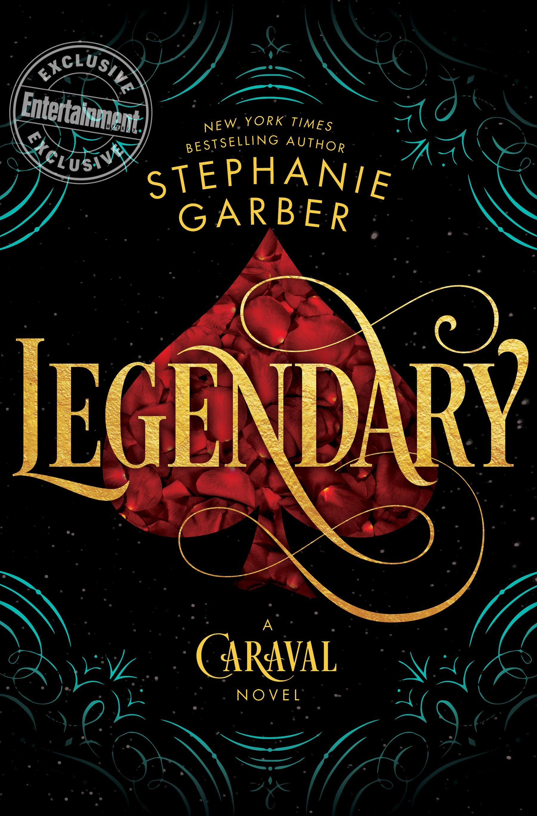 Image result for legendary stephanie garber covers