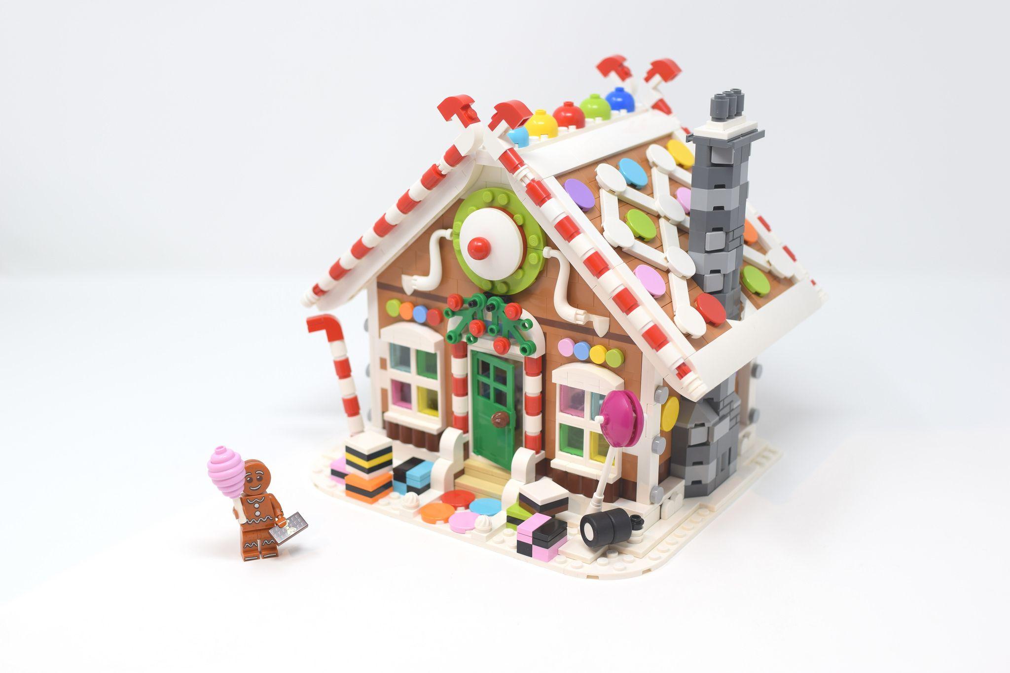 Winter Village Gingerbread House 1
