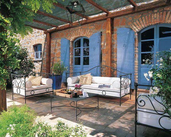 Sillon cama de hierro forjado buscar con google for Muebles de jardin de hierro forjado
