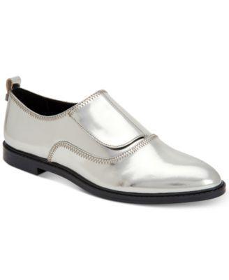 Plate-forme Klein Chaussures Oxford Calvin - Métalliques k6mmO