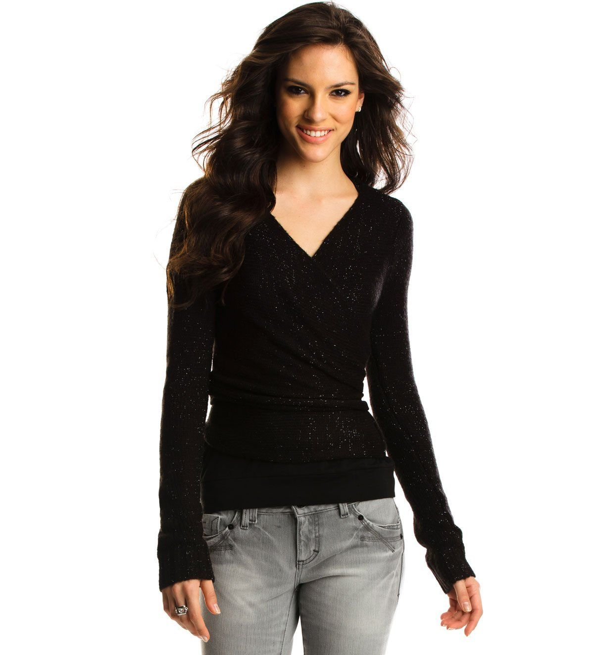Armani Exchange Convertible Cardigan Sweaters for women